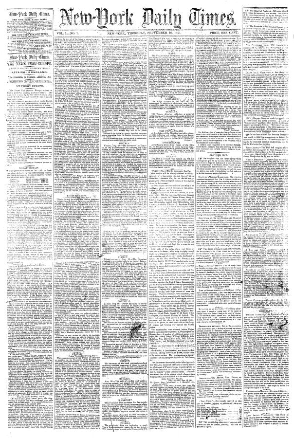 Verdens største og mest innflytelsesrike engelskspråklige aviser